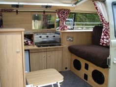 The Camper Shak design custom interiors for volkswagen camper vans. Kombi Camper, Vw T1, Camper Van, Campers, Volkswagen, Kombi Interior, Van Life, Motorhome, Interior Ideas