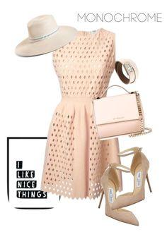 """dress"" by masayuki4499 ❤ liked on Polyvore featuring Fendi, Givenchy, Jimmy Choo and Eric Javits"