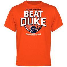 Syracuse Orange Beat Duke T-Shirt - Orange