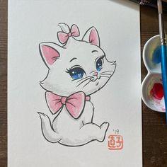 Disney Princess Art, Disney Nerd, Arte Disney, Disney Fan Art, Baby Disney, Cartoon Drawings Of Animals, Cartoon Art, All Disney Characters, Easy Disney Drawings