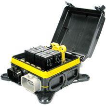 ATC ATO Blade Fuse and Mini Relay Block Panel Holder 12v