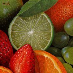 """""""Fruitmix"""" - Original Fine Art for Sale - ©Dietrich Moravec"""