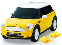 【ありそうでなかった立体パズル】ミニクーパーもある! 組み立ててインテリアにして楽しい名車ぞろいのパズルが新発売‼