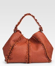 Bottega Veneta  Frayed Out signature cross-woven leather 7e99ab4e9eebc