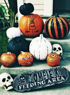 no-carve Pumpkin glam...