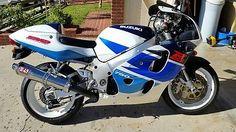 1998 Suzuki GSX-R motorcycle please retweet