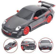 New 1:18 Scale Porsche 911 GT3 RS Radio Remote Control Car RC R/C Full Function