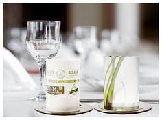 4. Hochzeitskerzen & Beleuchtung - Hochzeitswindlicht `Classic Mini` mit Ihrem Motiv - ein Designerstück von Ambientshop bei DaWanda