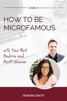 """Ever feel like you're showing up in all the social media scenes but you're still not booking as many clients as you want or your business isn't growing like you thought it would?   Matt Johnson shares the power of narrowing your niche, how to create impact with a small audience, why he focuses on only one social media channel, and how the """"no new content"""" strategy can create the engagement you're looking for!"""