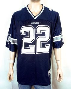 f4b4b271554 vtg 90s Starter NWOT mint Emmitt Smith NFL Jersey Dallas Cowboys Football  HOF 48
