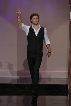 Chris Hemsworth on The Tonight Show with Jay Leno on September 16, 2013
