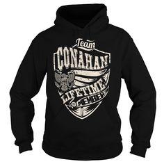 (Tshirt Amazing Sell) Last Name Surname Tshirts Team CONAHAN Lifetime Member Eagle Discount 20% Hoodies, Funny Tee Shirts