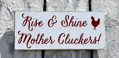Farm House Decor, Farm Sign, Chicken Coop Rooster Homestead Plaque, Funny Unique Farming Animal Outdoor Bedroom Kitchen Wall Art Rustic Chic by FarmHouse1920 on Etsy https://www.etsy.com/listing/239734206/farm-house-decor-farm-sign-chicken-coop