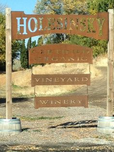 Holesinsky Organic Vineyard and Winery in Buhl ID & Huston Vineyards | Gateway to Idaho Vineyards Wines and Wineries ...