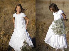 TERESA PALAZUELO lanza su primera línea de vestidos de Primera Comunión, siguiendo con la línea habitual de su taller y haciendo hincapié en el estilo romántico, innovador y de ...