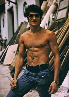Bruce Lee - gone mysteriously and too soon. <3 Enter the Dragon