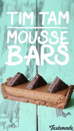 We turn Australia's classic chocolate biscuit into a mousse bar.