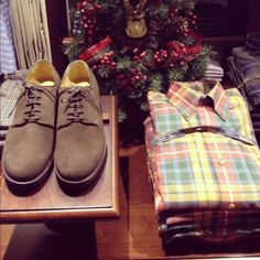 Great holiday gift items to give or to keep from Brooks Brothers!