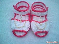 Sandales pour bébé au crochet , pas à pas en images ! - Crochet Passion