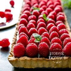 Malinovo-čokoládový koláč  Hodně domácí Paleo, Strawberry, Fruit, Sweet, Food, Essen, Strawberry Fruit, Strawberries, Yemek
