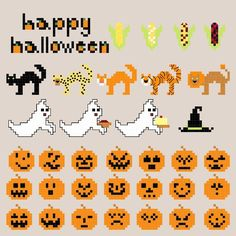 Looking for your next project? You're going to love Halloween Mini motifs by designer A Watkins.