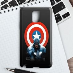 Captain America Winter Soldier Poster Samsung Galaxy Note 4 Case   casefantasy