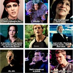 sassy Catching Fire moments (gifset)