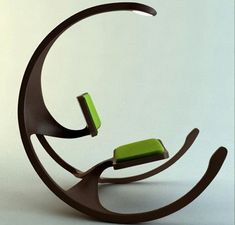 cool rocking chair...you look like your sitting on the moon