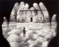 Jerry Uelsmann. Forty years ago, Jerry Uelsmann was an avant-garde photographer, using multiple negatives in a darkroom to create a single print that juxtaposed images in a strange, surreal way. Manipulating an image was considered heresy by some photography purists back then. Today Uelsmann is the traditionalist, continuing to use multiple enlargers in a darkroom rather than computer programs such as Photoshop for his ravashing works.
