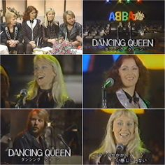 "23rd Nov 1978 Abba were in Japan where they performed ""Dancing Queen"" on TV show ""The Best 10"""