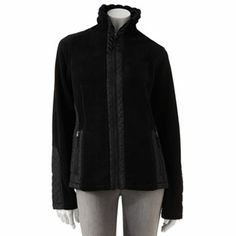 Granny Weathercast Quilted Fleece Jacket - Women