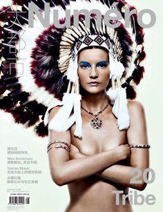 Numéro China #20 August 2012: Sara Blomqvist: Tiziano Magni