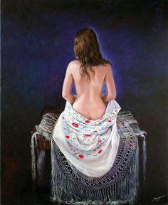 oleo sobre lienzo  73 x 60