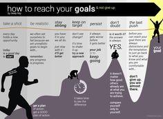 7 maneras de alcanzar sus metas y no darse por vencido