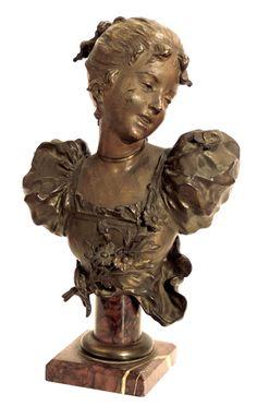 Statues, Bodies, Frozen, Feminine, Sculpture, Portrait, Antiques, Furniture, Art