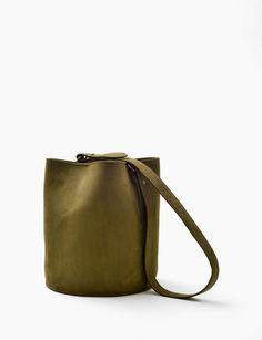 67661f48d457 Creatures of Comfort small leather bucket bag at Bird   ShopBird.com  575
