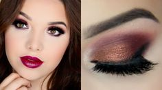 Fall Smokey Eyes & Plum Lips Tutorial Colourpop Fall Collection 2015 -Ispy -Central Perk -Boy Band - Cruel Intentions
