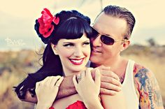 Pinup Engagement Session