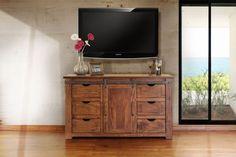 """Artisan Parota IFD866 60"""" TV Stand"""