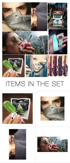 """""""smoke weed"""" by maryijane ❤ liked on Polyvore featuring art"""