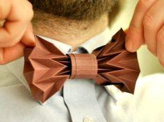 paper bow tie, pattern