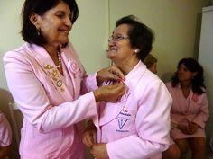 No dia 29 de janeiro, quinta-feira, a Rede Feminina de Combate ao Câncer de Rodeio realizou a reunião de posse da nova diretoria, gestão 2015/2016.