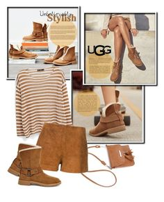 """""""The New Classics With UGG: Contest Entry"""" by kiki-bi ❤ liked on Polyvore featuring UGG, MANGO, rag & bone and ugg"""