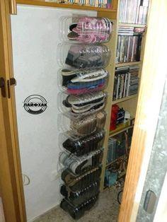 Как сэкономить пространство в комнате. Отличная идея для хранения - на даче, в гараже, на балконе!