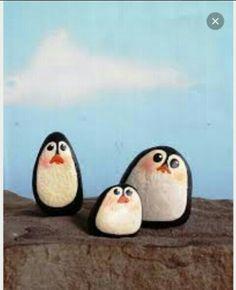Pinguini su pietre