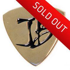 2014 Inaugural JB Gold Pick Pin - Only 500 Made