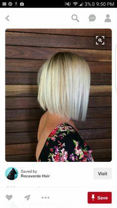 Summer Trend Bob Hairstyles for Fine Hair – Hair Styles Haircuts Straight Hair, Blonde Bob Hairstyles, Bob Hairstyles For Fine Hair, Short Hair Cuts, Short Hair Styles, Hairstyles 2018, Fashion Hairstyles, Ponytail Hairstyles, Wedding Hairstyles