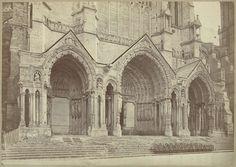Médéric Mieusement | Kathedraal van Chartres, noordzijde, Médéric Mieusement, 1870 - 1890 |