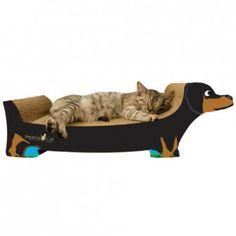 Cama de Gato modelo perro salchicha