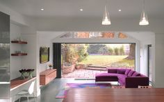 Kitchen, Livingroom design from Roundhouse